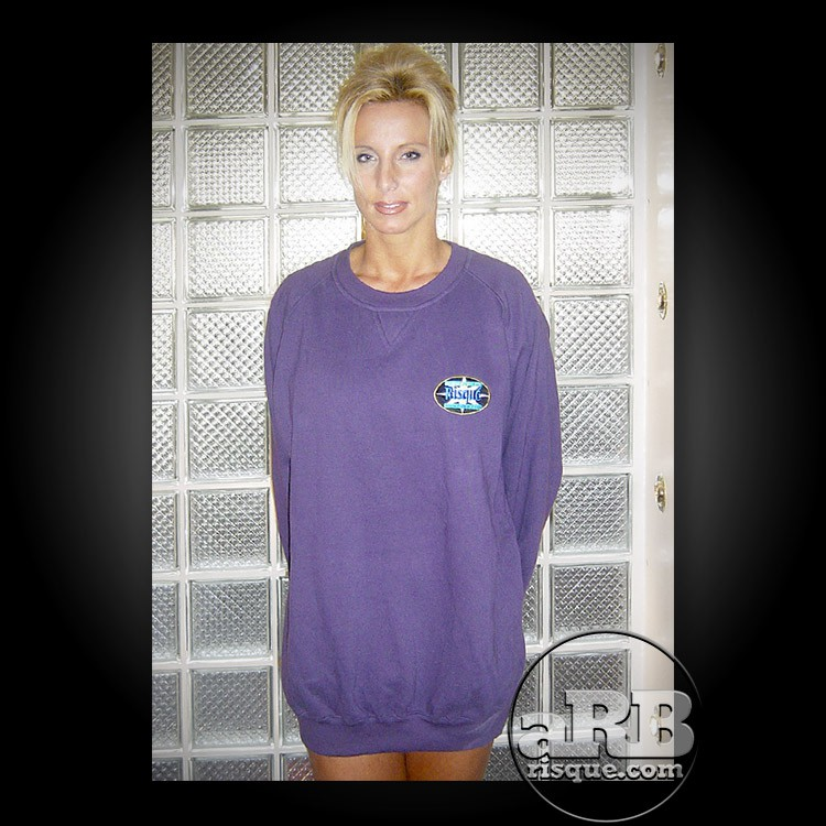a Risque Sweat Shirt - Purple