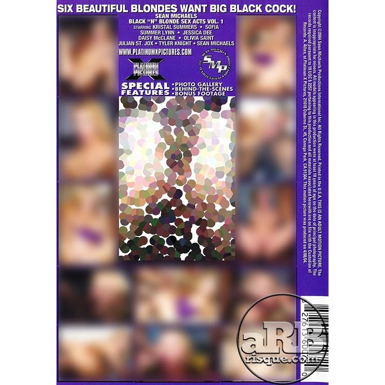 Black 'N' Blonde Sex Acts - Back