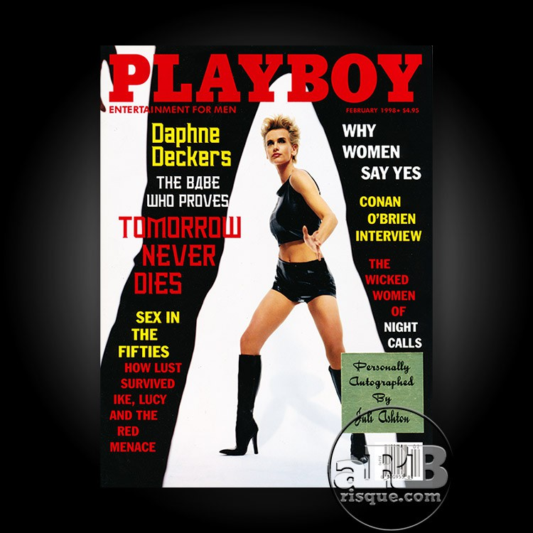 Juli Ashton's Playboy Magazine