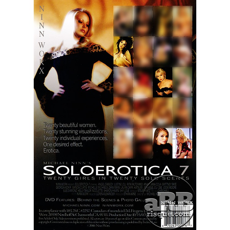 Soloerotica 7 - Back